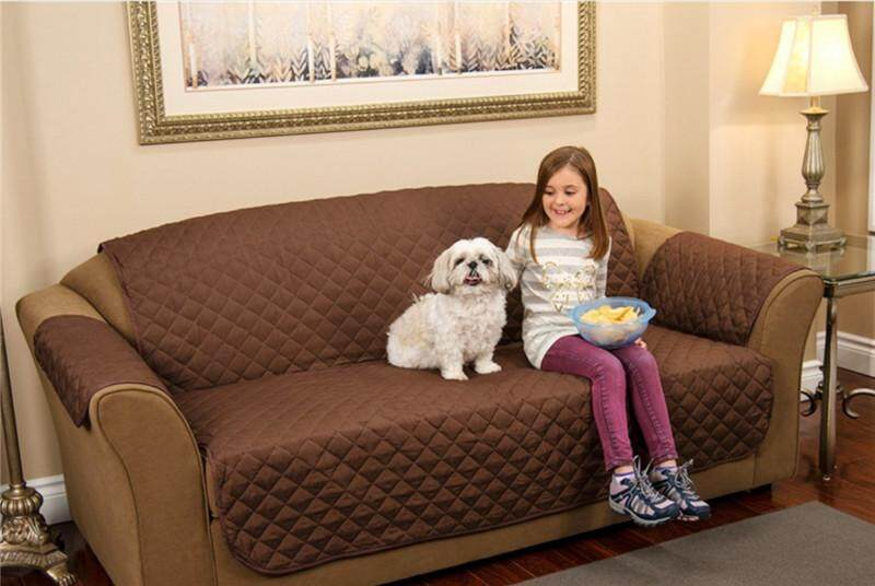 1 /2/3 Seat Reversible Chair Couch Slip Resistant Slipcover Protector Furniture Sofa Cover