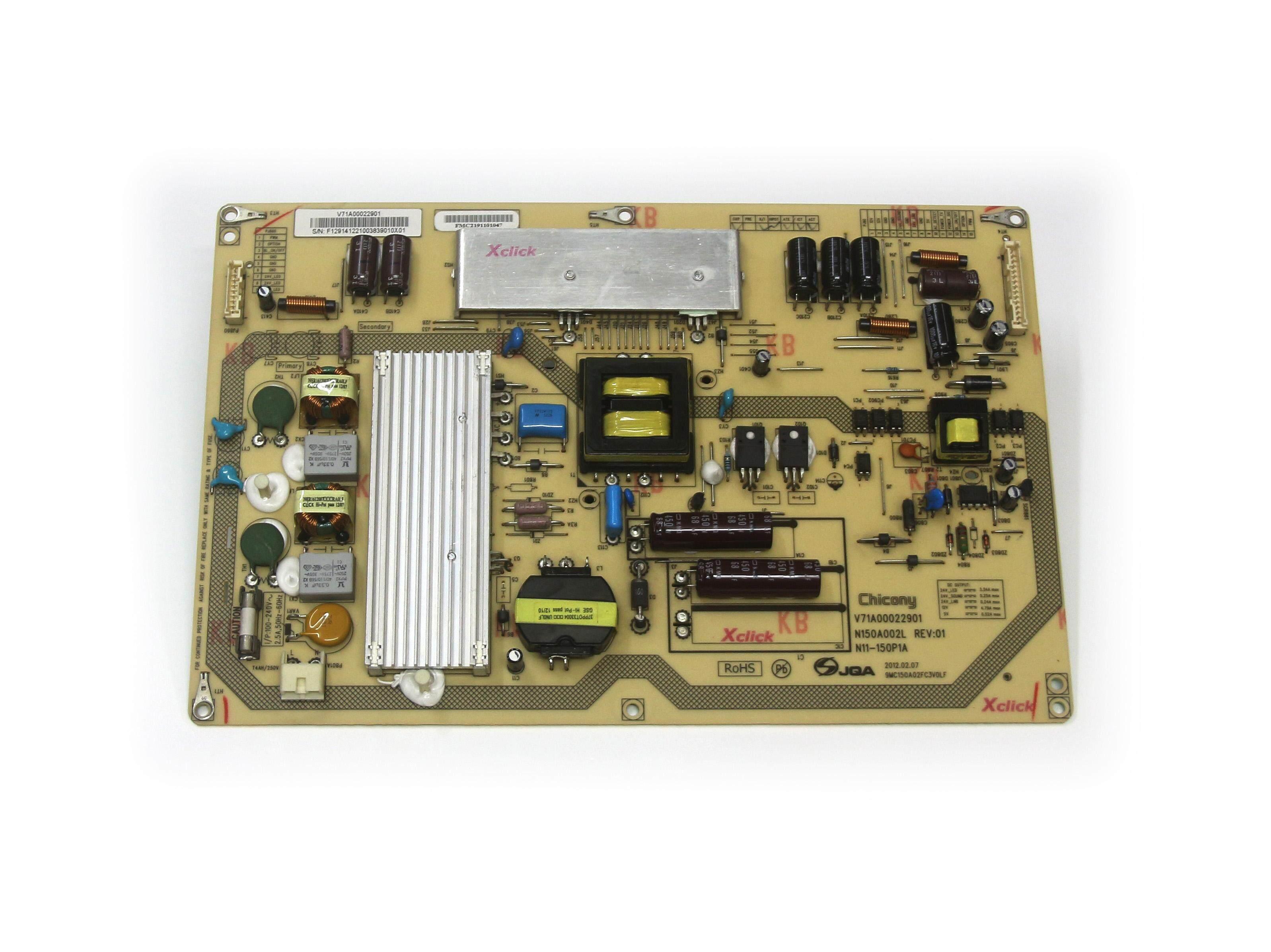 Power Supply board for Smart TV Toshiba 46PX200EM