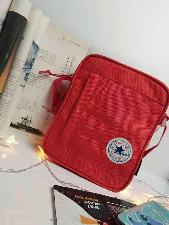 Shoulder bag portable messenger bag red
