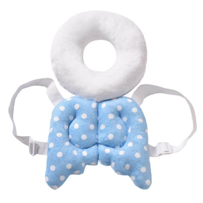 Lucu Balita Baby Toddler Boneka Bayi Kembali Pelindung Baju Keselamatan Tutup Kepala Sayap Kartun Kepala Pelindung Bantal | Lazada Indonesia