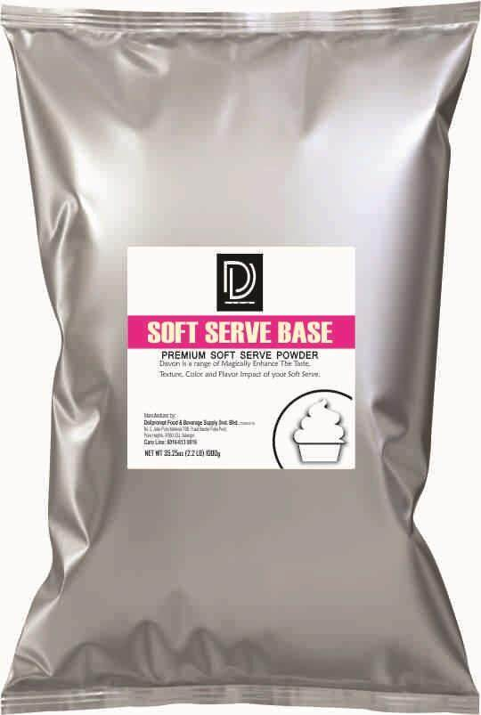 Soft Serve Ice Cream Base Powder 1KG