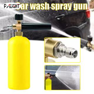 PAlight Máy Rửa Áp Lực Phun Bọt Với Đầu Nối Nhả Nhanh 1 4 , Dụng Cụ Tạo Bọt Tuyết Có Thể Điều Chỉnh Để Rửa Xe thumbnail