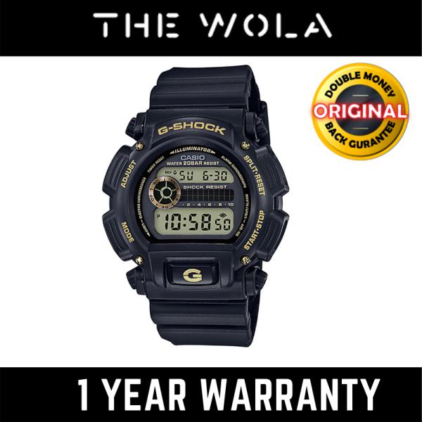 (100% Original G SHOCK) GSHOCK Men Sport Digital Watch DW-9052GBX-1A9DR (watch for man / jam tangan lelaki / G SHOCK watch for men / G SHOCK watch / men watch / watch for men) Malaysia