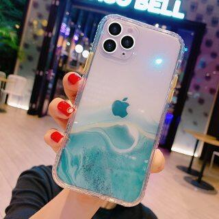 Ốp Lưng Điện Thoại Kim Tuyến Đá Cẩm Thạch Chuyển Sắc HOCE, Dành Cho iPhone 12 Pro 11 Pro Max XR XS Max X 7 8 Plus SE 2020 Ốp Lưng Trong Suốt Chống Sốc thumbnail
