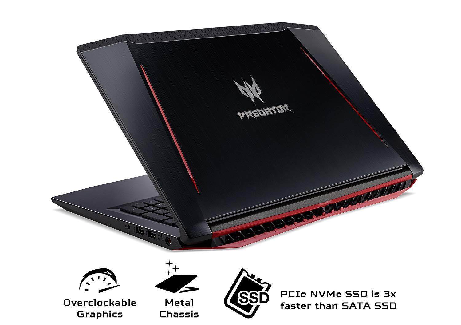 ACER PREDATOR HELIOS 300 Core i7-8750H Gaming, 15.6 HD IPS 144Hz, PH315-51-78NP Malaysia