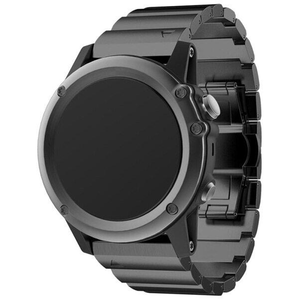 Metal Bracelet Stainless Steel Watch Wrist Band Strap For Garmin Fenix 3 / HR Malaysia