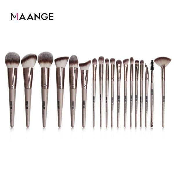 Buy MAANGE 18Pcs Make Up Brush Set Powder Eye Shadow Foundation Blush Blending Brush Beauty Tool Singapore