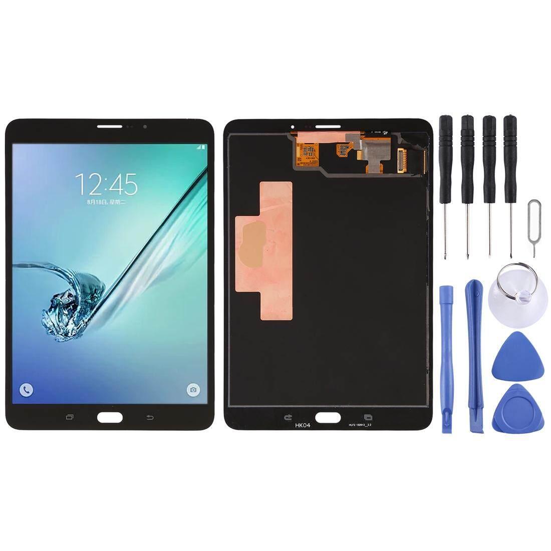 Layar LCD dan Digitizer Penuh Perakitan untuk Samsung Galaxy Tab S2 8.0 LTE/T715/T719 (Hitam)