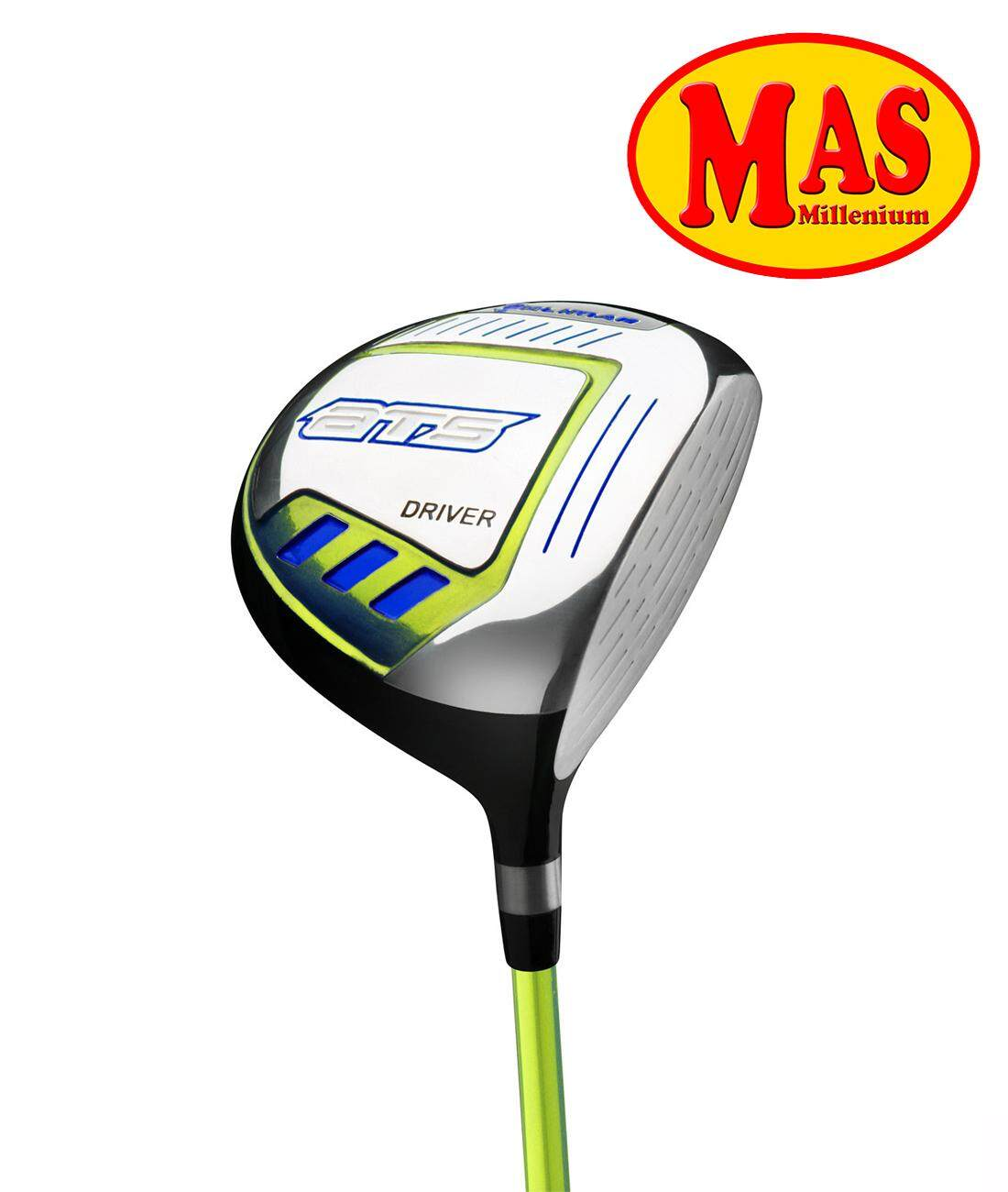 Orlimar Ats Junior Boys Lime/blue Driver (rh Ages 3-5) By Mas Millenium Golf.