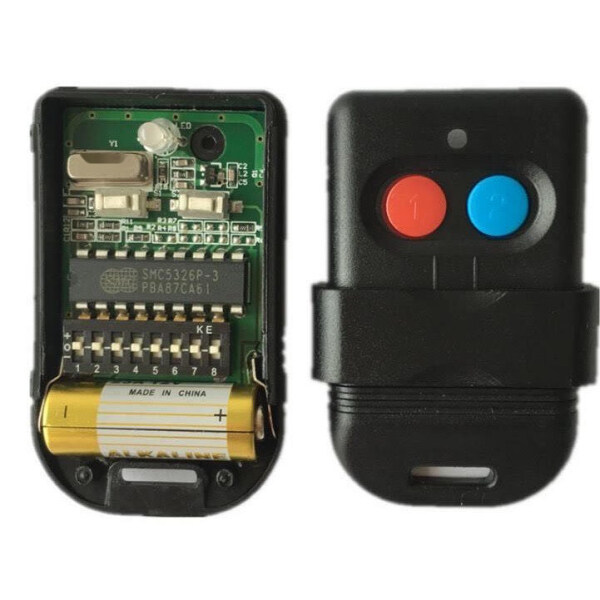 Autogate Remote Control Duplicator SMC5236 330Mhz (Battery Included) -Excellent quality -Stock in Malaysia -Fast shipping