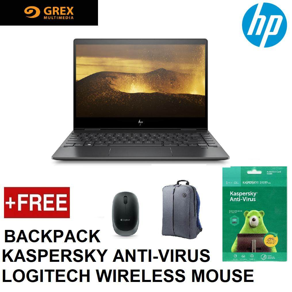 HP ENVY X360 13-AR0094AU TOUCH LAPTOP ( RYZEN 5,8GB,256GB SSD,VEGA 8 GRAPHICS,13.3 FHD,WIN10 HOME ) FREE HP BACKPACK + KSPSKY ANTI-VIRUS + LOGITECH WIRELESS MOUSE Malaysia