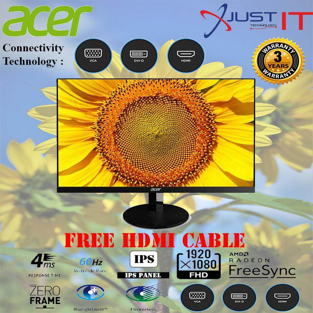 ACER SA270A 27 IPS AMD FREESYNC FHD LED LCD MONITOR ( FREE HDMI CABLE ) Malaysia