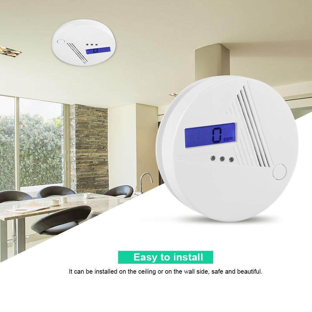 85dB High Sensitive Home Security Carbon Monoxide Alarm LCD Flashing Independent CO Gas Sensor
