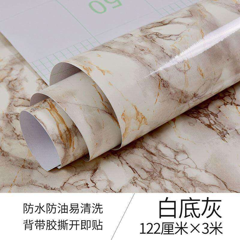 Kitchen Wallpaper Oil-Proof Fireproof Brick Wall Moisture-Proof Oil-Absorbing Sheets Sticky Wall Wall Surface Cabinet Counter Self-Adhesive Stickers