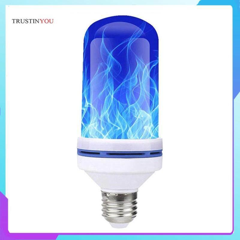 E27 Hiệu Ứng Ngọn Lửa LED Bóng Đèn Nhấp Nháy Lửa Mô Phỏng Đèn Trang Trí