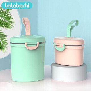 [Lalaboshi] Thực Phẩm Lưu Trữ Hộp Sữa Bột Tiện Dụng Cho Bé Với Muỗng, Hộp Kín Tank thumbnail