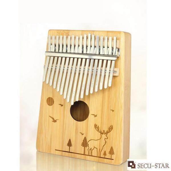SECU-STAR Kalimba Phiên 17 Phím Ngón Đàn Piano Ngón Tay Piano Tay Đàn Piano Thân Tre Với Các Phụ Kiện