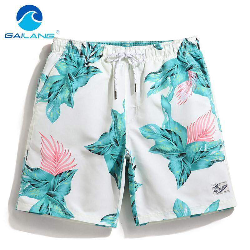 c8831999f27c GAILANG Summer Fashion Shorts For Men And Womens Lovers Beach Short Pants  Quick Drying Printing Board