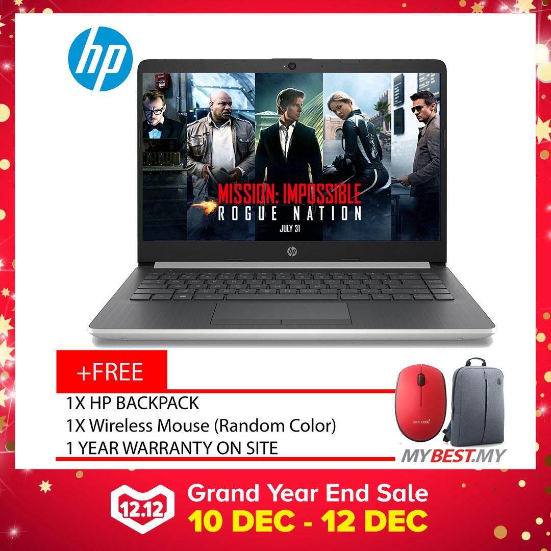 HP 14-Cm0010AX/14-Cm0012AX ( AMD Ryzen™ 3-2200U, 4GB, 1TB, Radeon 520 2GB, W10 ) Malaysia