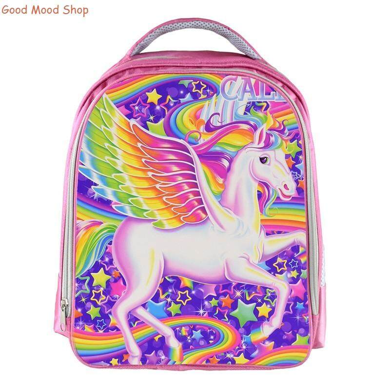 5-11 year old girl primary school student creative backpack popular unicorn cartoon school bag