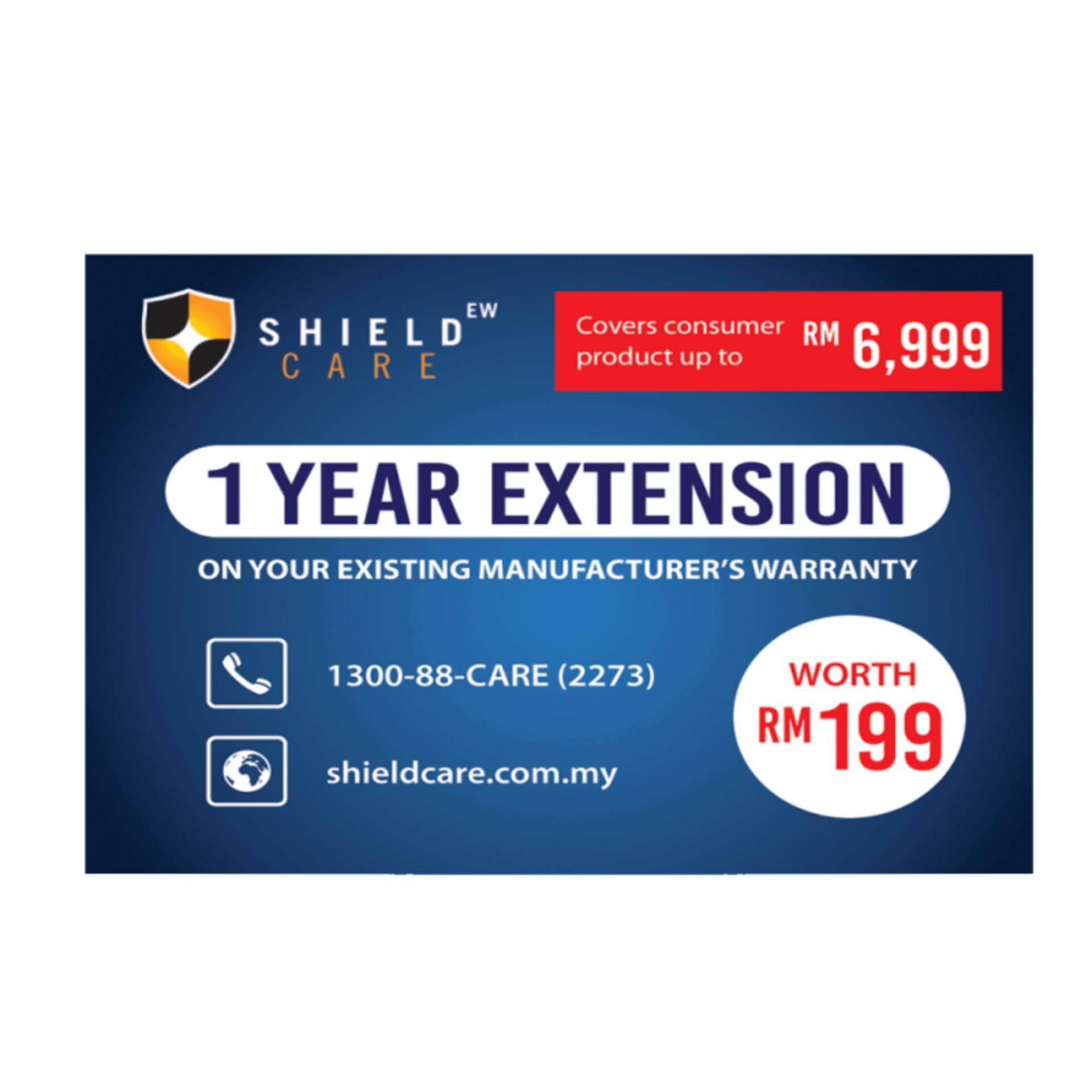 Shield Care - 1 Year Extended Warranty (coverage Up To Rm6,999) By Hp Brand Shop - Sns.