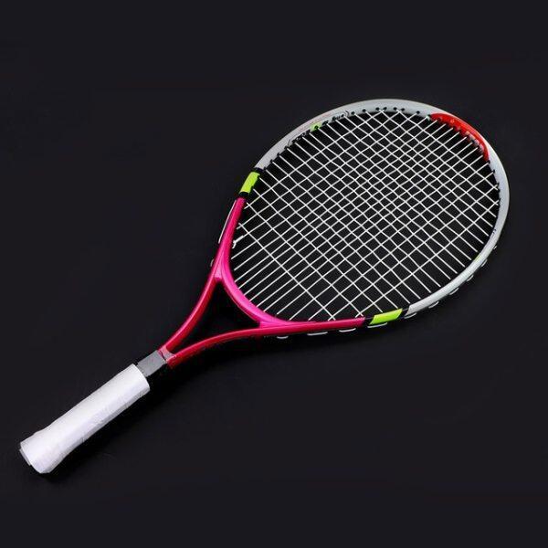 Bảng giá Vợt Tennis Hợp Kim Nhôm Mới Để Đào Tạo Raquete De Quần Vợt Sợi Carbon Chất Liệu Thép Hàng Đầu Với Túi Đựng