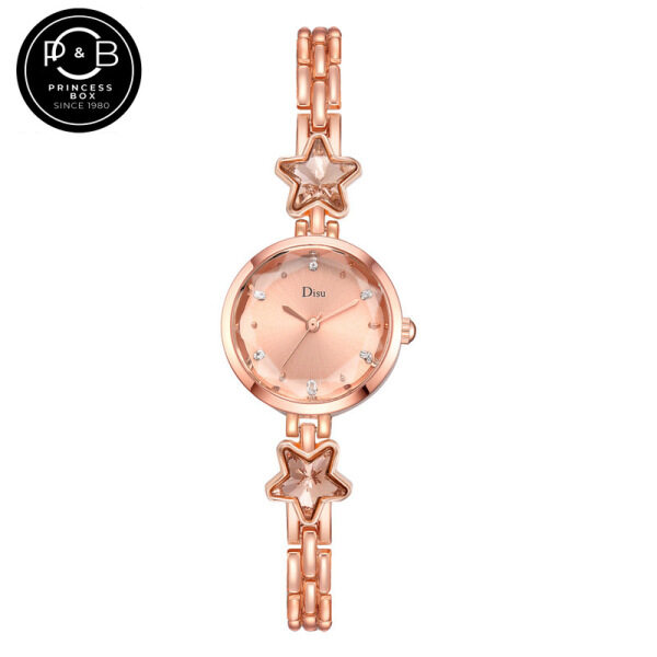 PRINCESS BOX New Ladies Watches with Diamond Fashion Luxury Quartz Wristwatch Alloy Bracelet Wrist Watch Ladies Matching Watch Malaysia