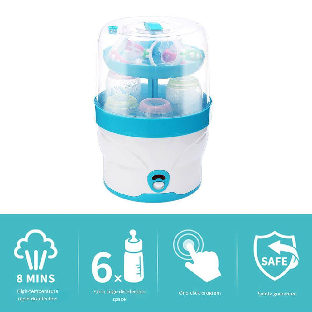 Jioumi Store Baby Bottle Sterilizer Steamed Food Heater Large Capacity Steam Pot