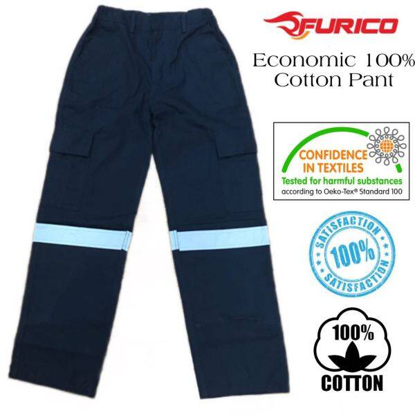 Furico Men multipocket work wear with Reflective/Tactical Cargo pants/factory uniform