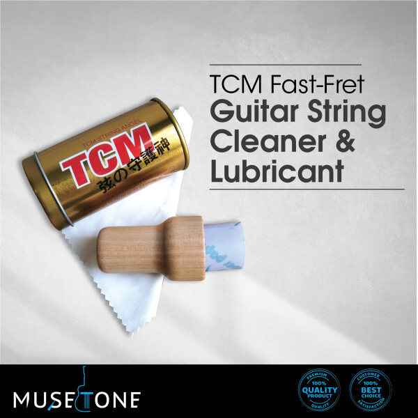 TCM FastFret Guitar String Cleaner and Lubricant (Fast Fret String Polish) Malaysia