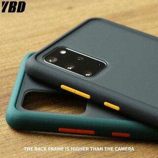YBD Ốp lưng chống sốc, bảo vệ máy ảnh, mặt sau mờ, cho Samsung Galaxy A71 A51 A50 A70 A10 A20 A30 - INTL thumbnail