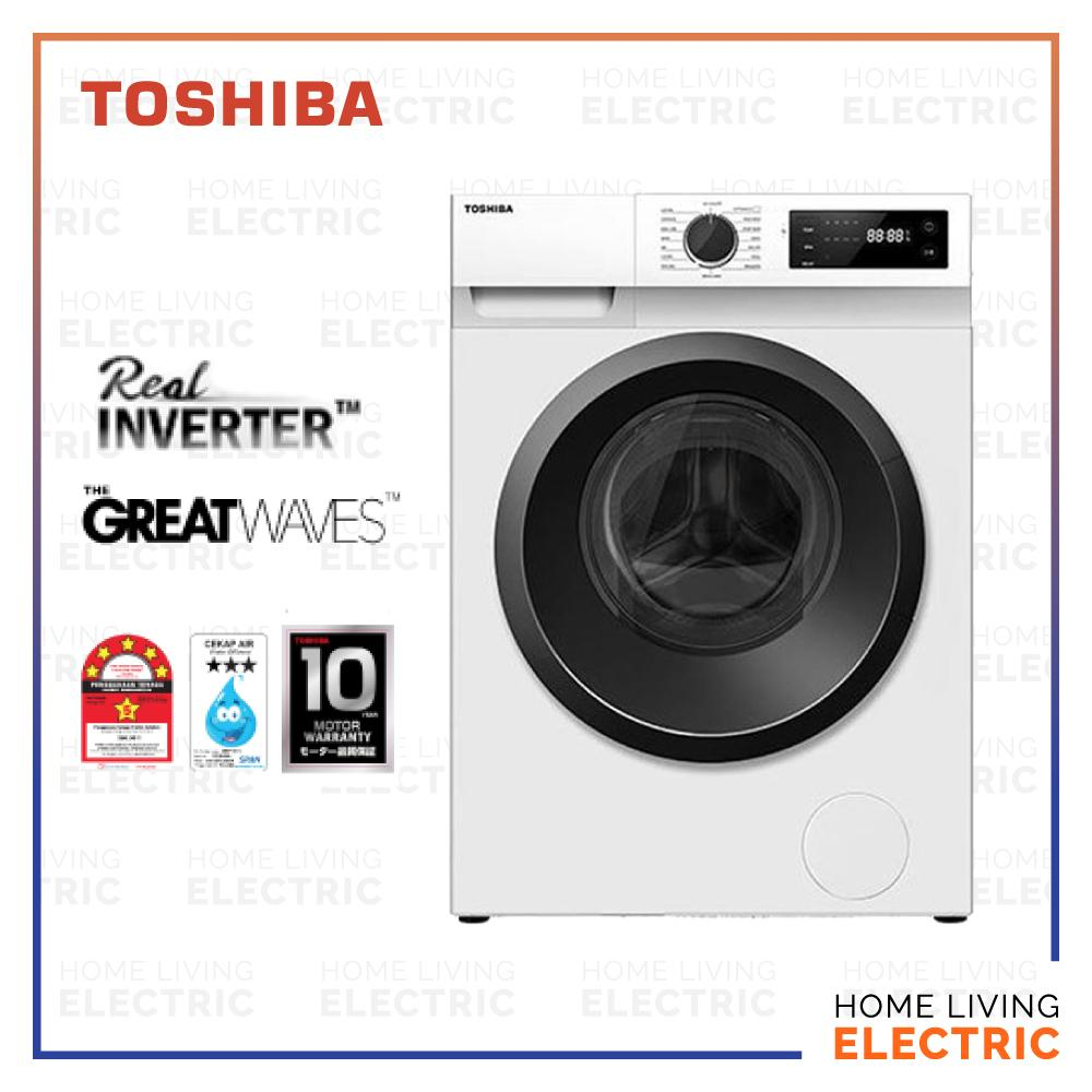 Toshiba 7.5kg Front Load Real Inverter Washing Machine Washer TW-BH85S2M