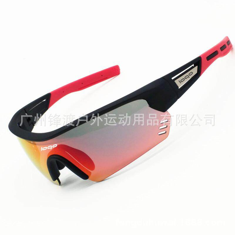 【High Quality】2019 New Style Bike Glasses Outdoor Sunglasses Riding Goggles Climbing Uv Glasses Anti-feng Sha Jing