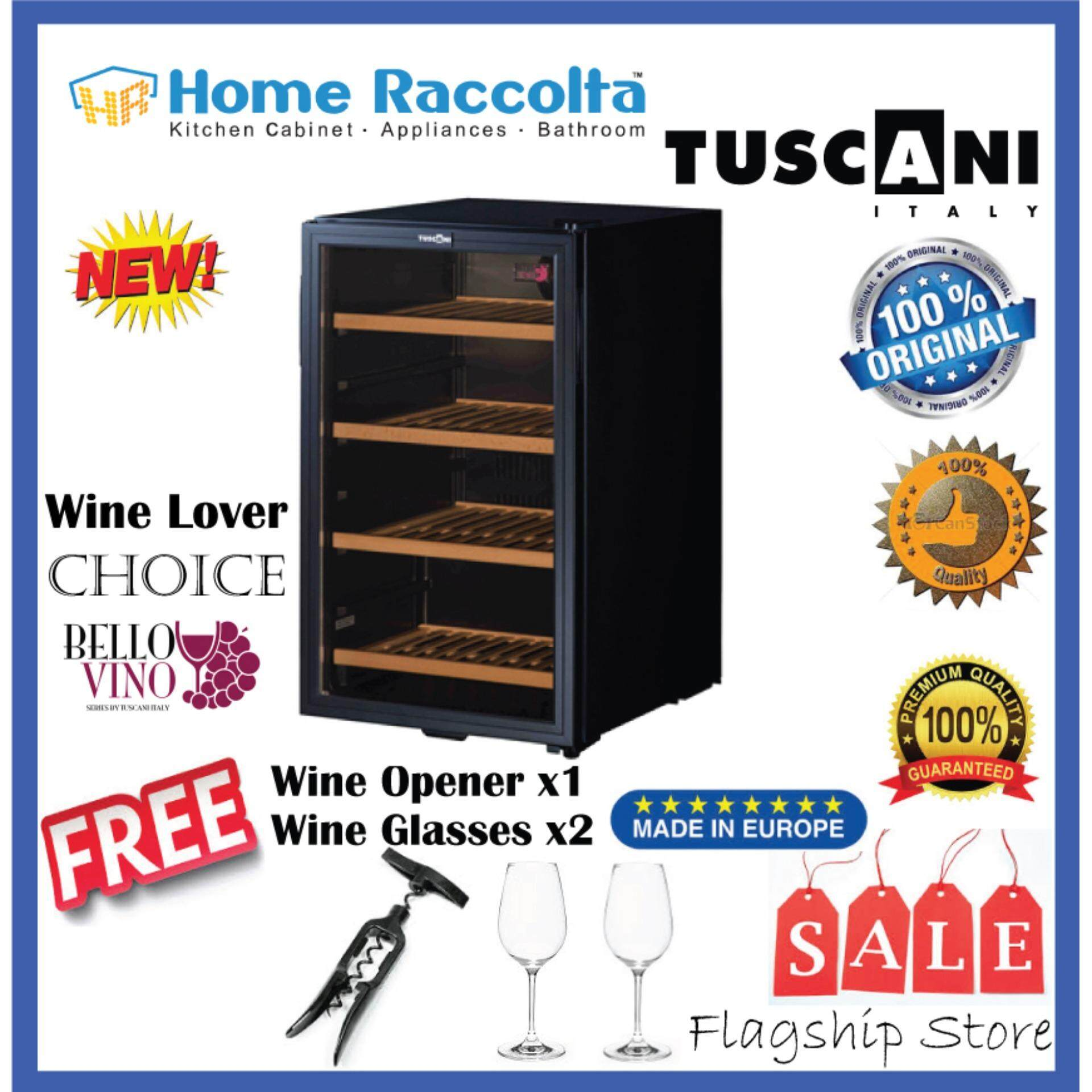 Tuscani Wine Cellar Bellona38d Wine Chiller Tsc Bellona 38d (32bottles) By Home Raccolta.