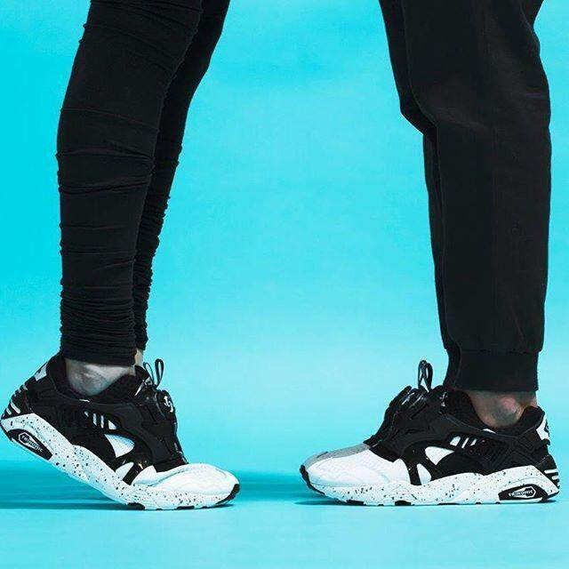 Original PUMA_Disc_Blaze black men women running shoes sports sneakers36-44