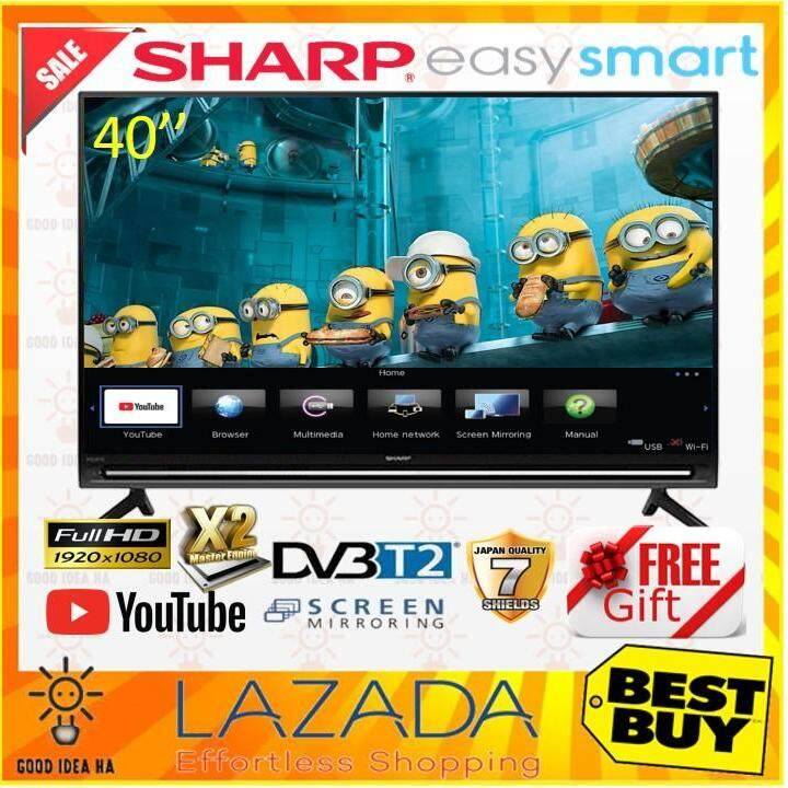 *FREE GIFT* SHARP AQUOS 40 EASY SMART LED TV ( LC40SA5500X ) with FULL HD