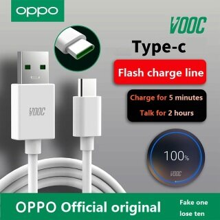 Bộ Chuyển Đổi Sạc VOOC 100% Chính Hãng 4V5A 20W, Cáp USB VOOC Type C Cho OPPO R17 Pro Find X X2 Pro Reno K3 thumbnail