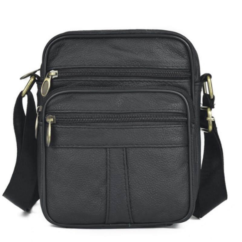 700b5ddadf 2019 new arrival men vintage fashion genuine leather shoulder bag messenger  bag cross body bag