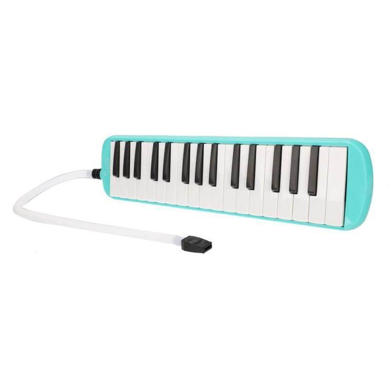 Sikiiwind Trẻ Em Bé Gái Glarry Di Động 32-Chìa Khóa Kèn Melodica với Miệng Vòi Túi Dụng Cụ Âm Nhạc với Túi Oxford