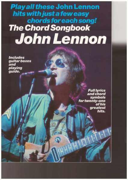 The Chord Songbook John Lennon (25Cm X 17CM) / Music Book / Guitar Book / Guitar Chord Book / Song Book / Voice Book Malaysia