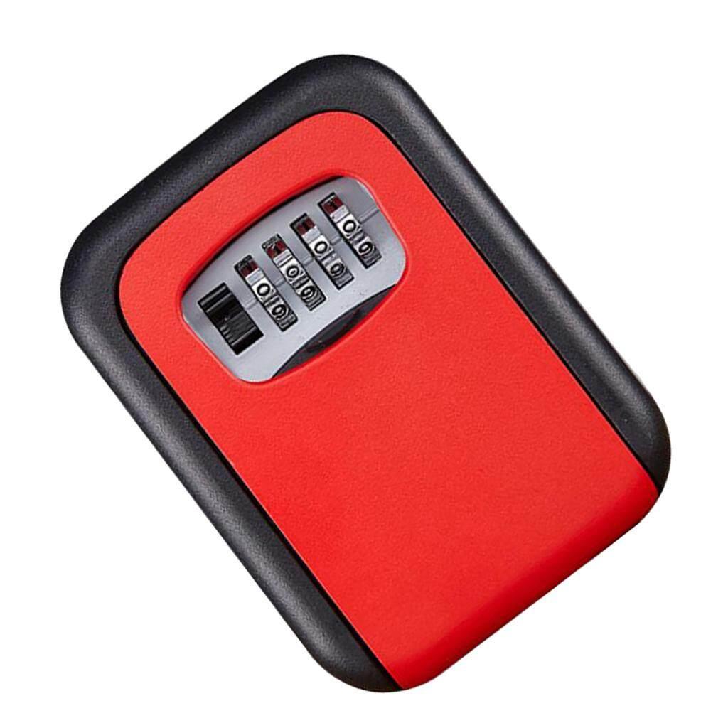 Blesiya Key Lock Box Combination Lockbox for House Key Storage, Combo Door Locker