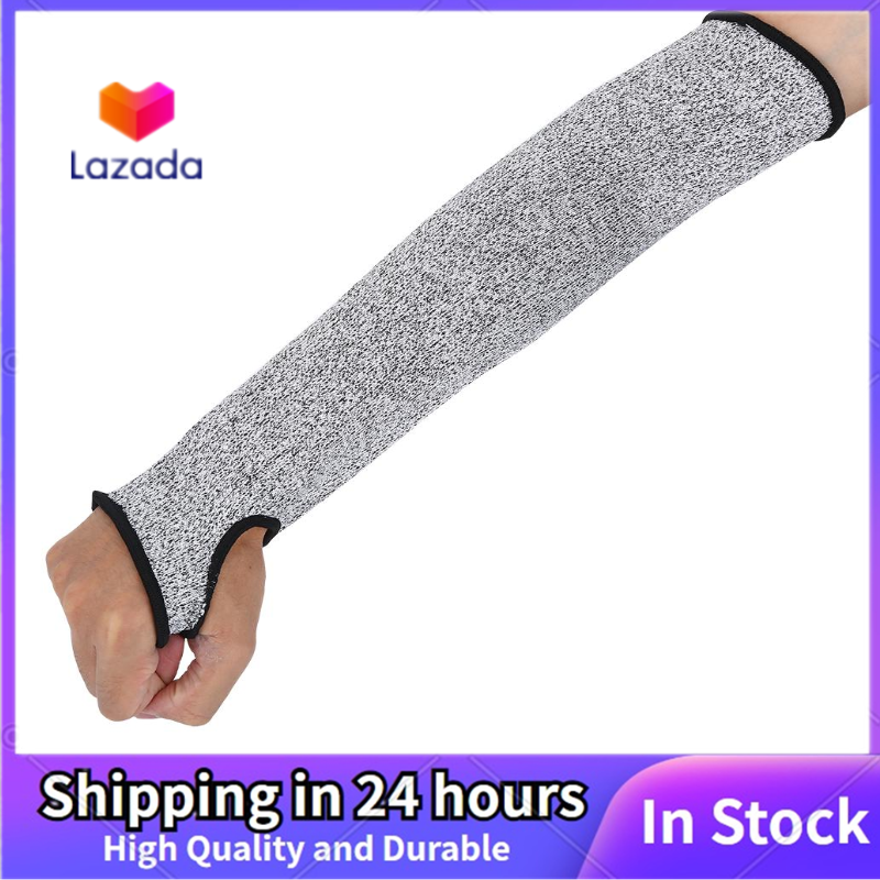 Cut Resistant Protective Arm Sleeve Wrist Guard Glove Clambing Hunting Climbing