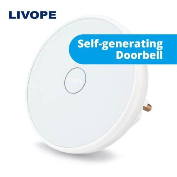 LIVOPE Smart Ding Dong Wireless electronic touch doorbell receiver wifi doorbell house call Night Light music eu plugs ringbell