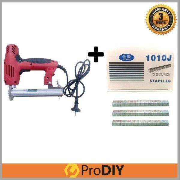 1022J Pro Electric Stapler Gun + 1010j 5000pcs Staples