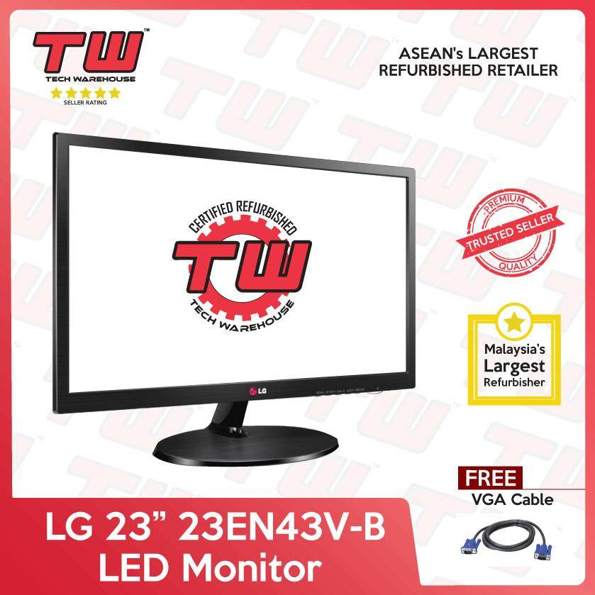 LG 23 23EN43V-B LED Monitor (Factory Refurbished) Malaysia