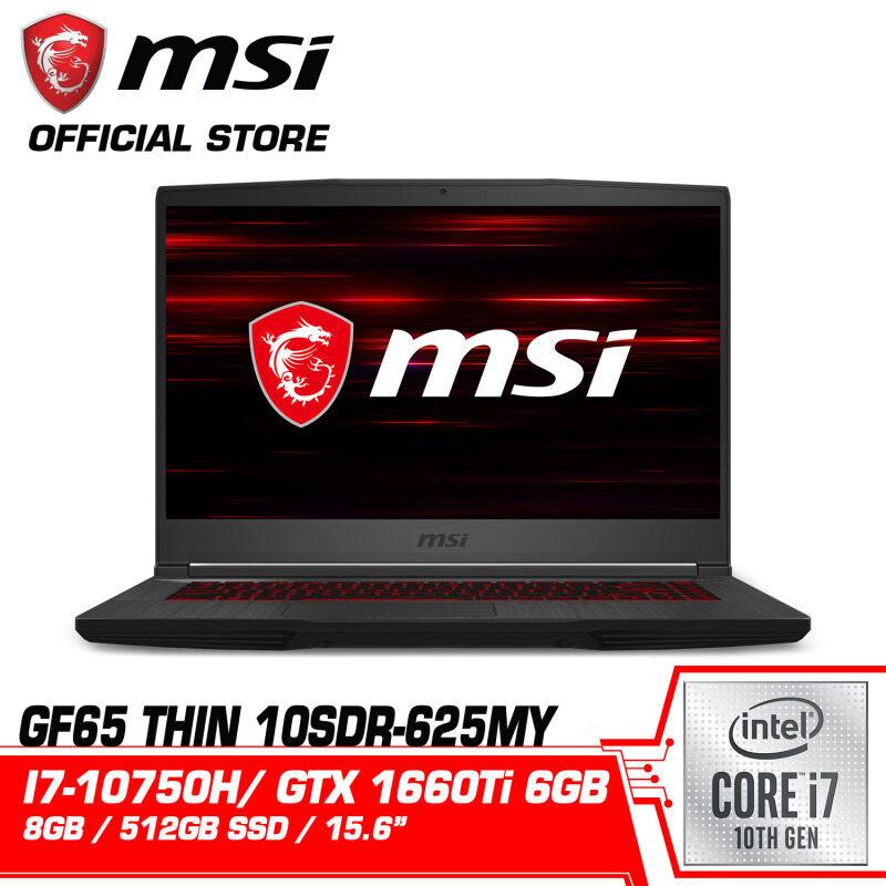 GF65 Thin 10SDR (GTX1660 Ti, GDDR6 6GB) Malaysia