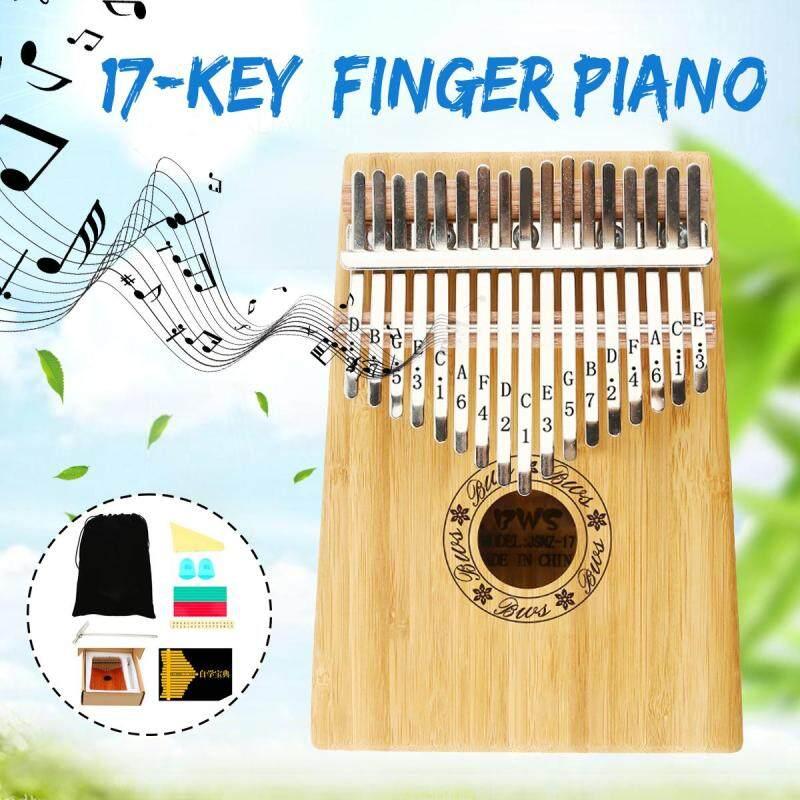 17 Keys Wooden Kalimba Finger Thumb Piano Education Musical Instrument Party Malaysia