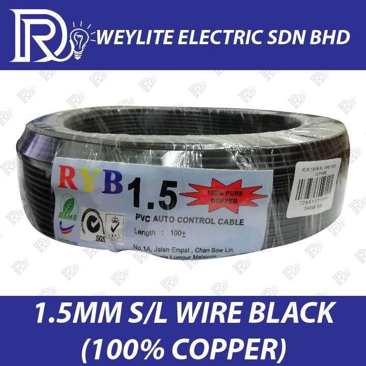 DR  CABLE 1 5MM S/L WIRE (100% COPPER)