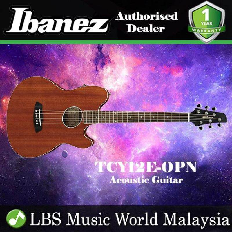 Ibanez TCY12E-OPN Open Pore Natural Acoustic-Electric Guitar (TCY12E) Malaysia