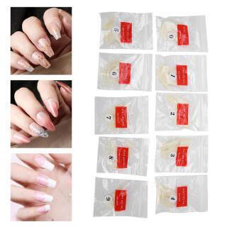 500 cái đầu móng tay nhân tạo che phủ toàn bộ móng tay móng tay giả phụ kiện móng tay nghệ thuật thumbnail